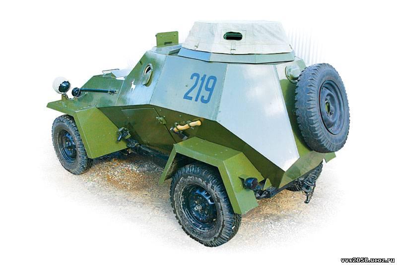 Советский лёгкий бронеавтомобиль ба