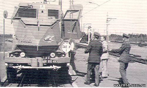 Полицейская бронедрезина kоbus юар